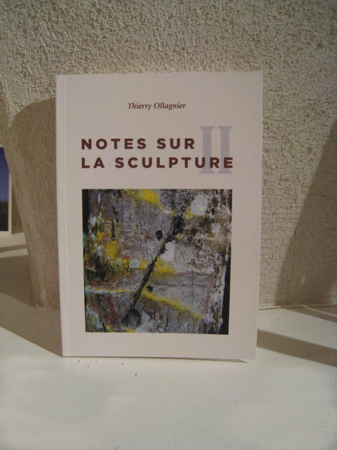 Livre d'artiste Note sur la Sculpture II / 21 juin 2016