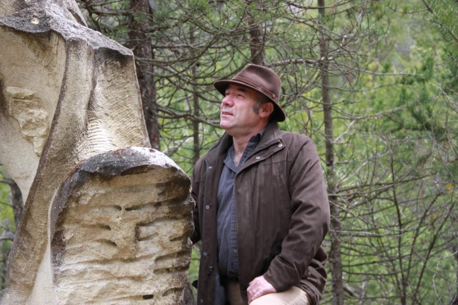 Thierry Ollagnier à la Biennale de Mandelieu le 01/06/12