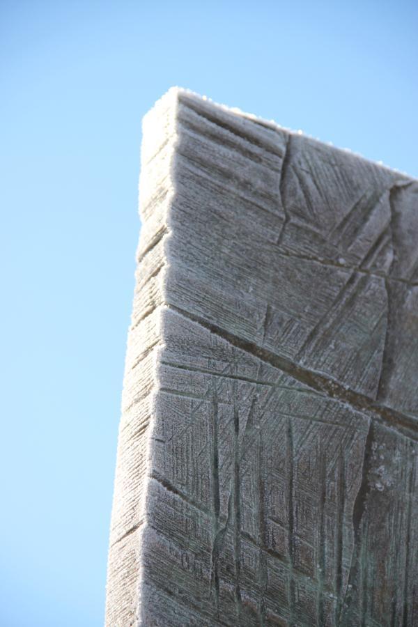"""De bronze et de glace """"Caryatide"""" 07/03/2012 De bronze et de glace """"Caryatide"""" 07/03/2012"""