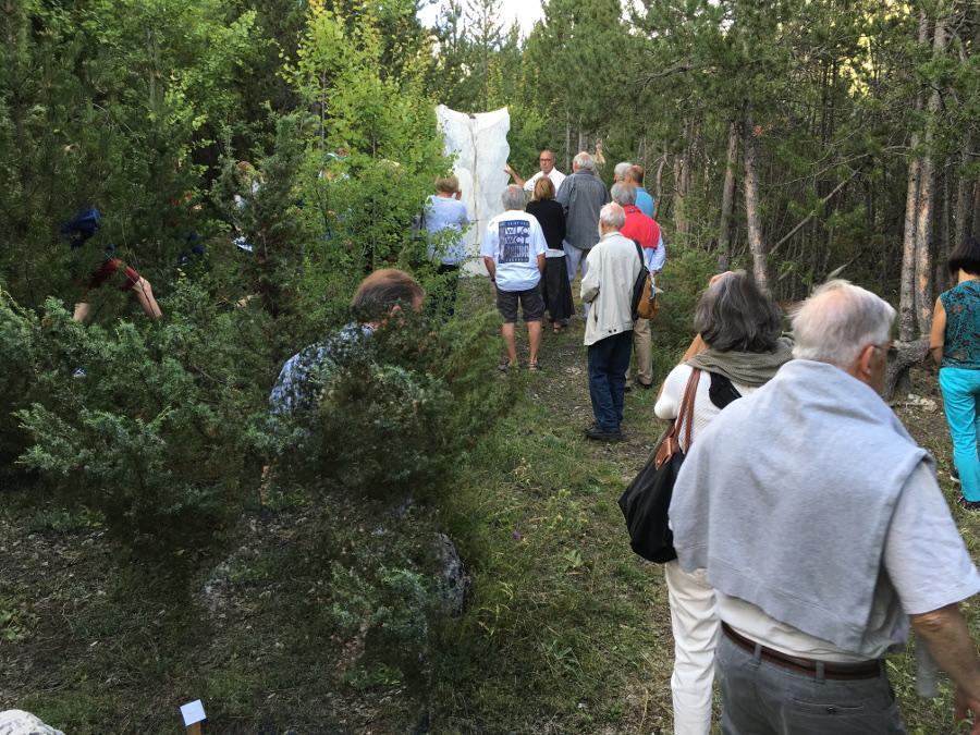 Journée du patrimoine visite au Jardin du Sculpteur 18 septembre 2016