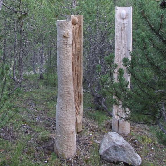 Les arbres parlent à la terre_Triptyque_Photo ChO