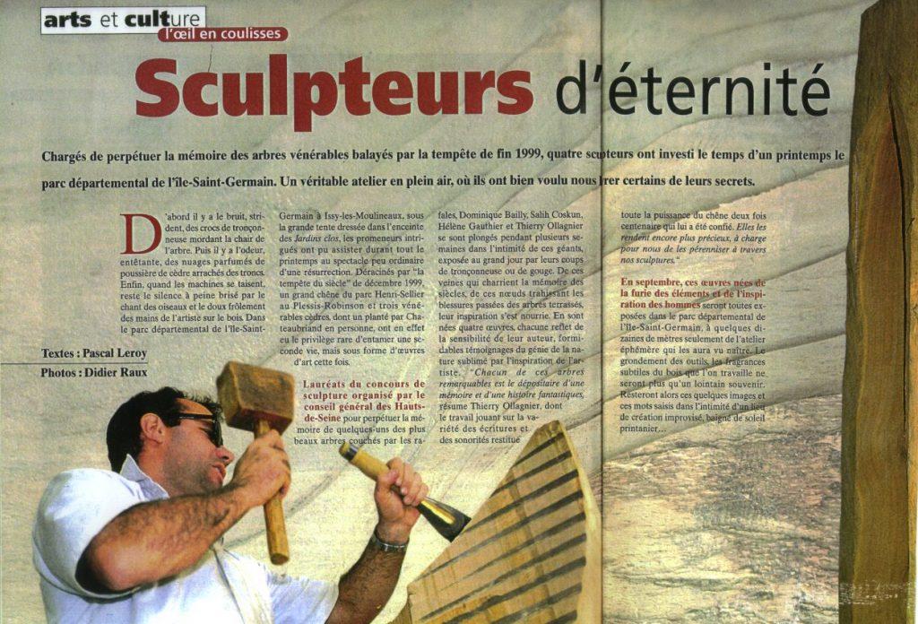 Express 92-Sculpteur d'éternité